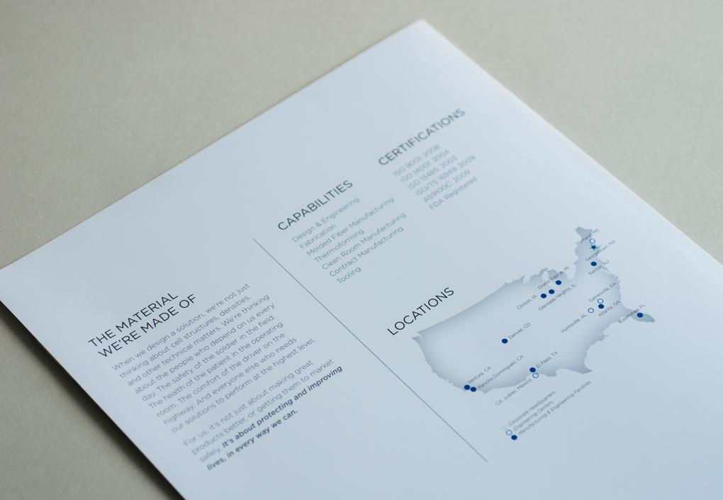 UFPT, Brochure