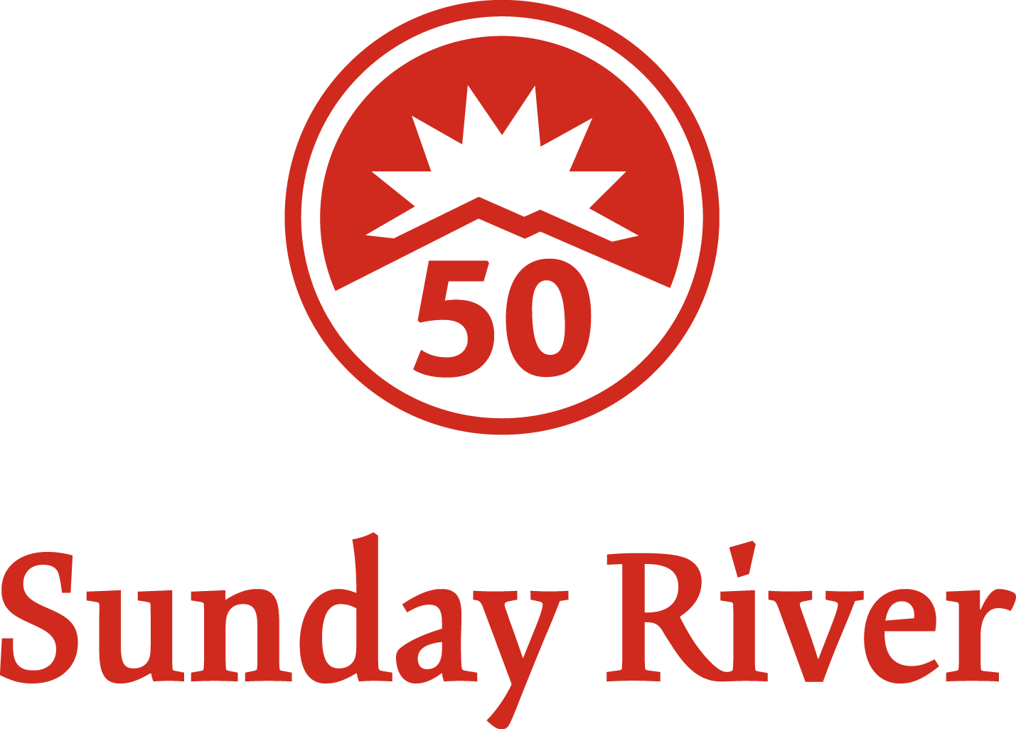 Sunday River 50 Years, Logo
