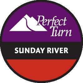 Sunday River Perfect Turn, Logo