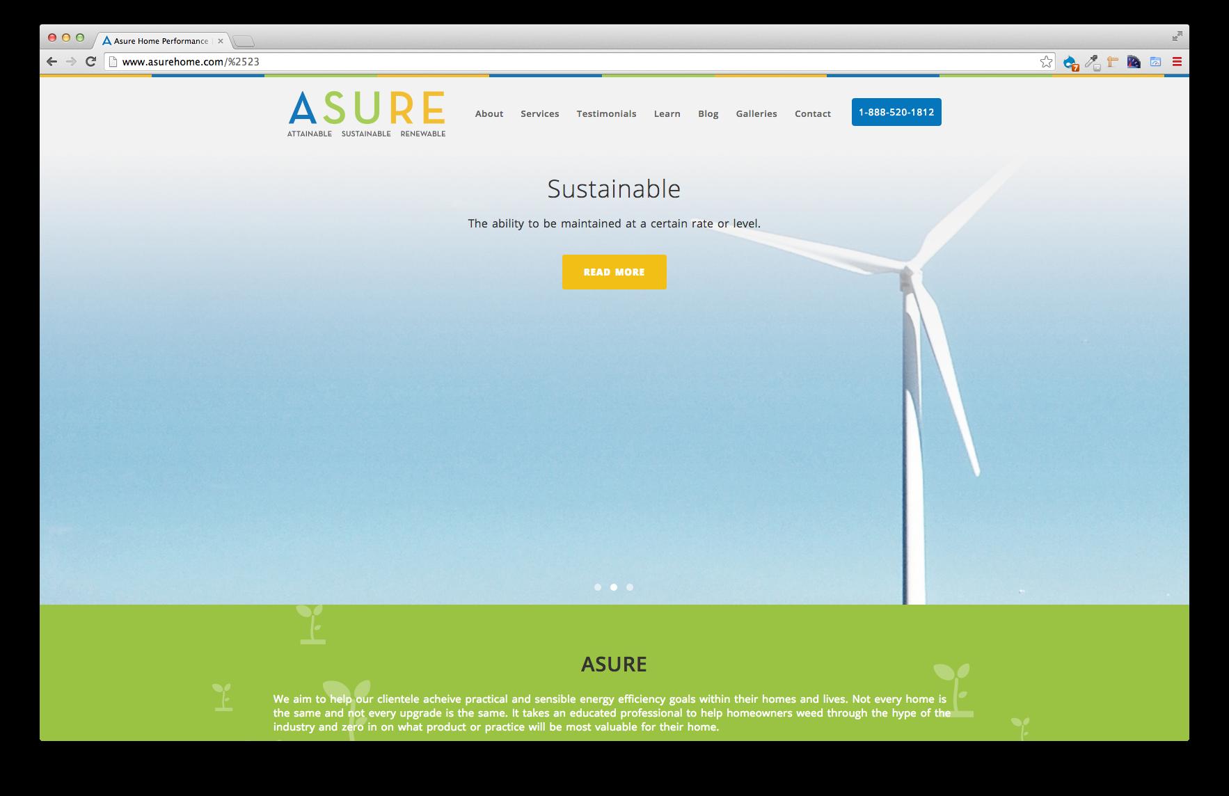 Asure, EC Pro Website