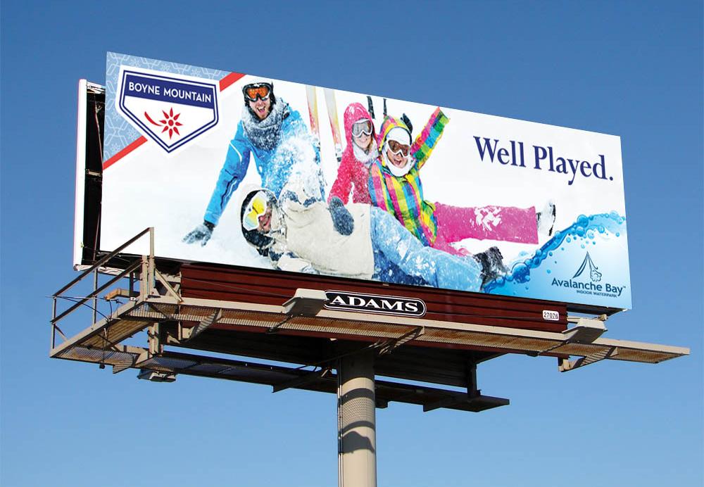 Boyne Mountain Billboard