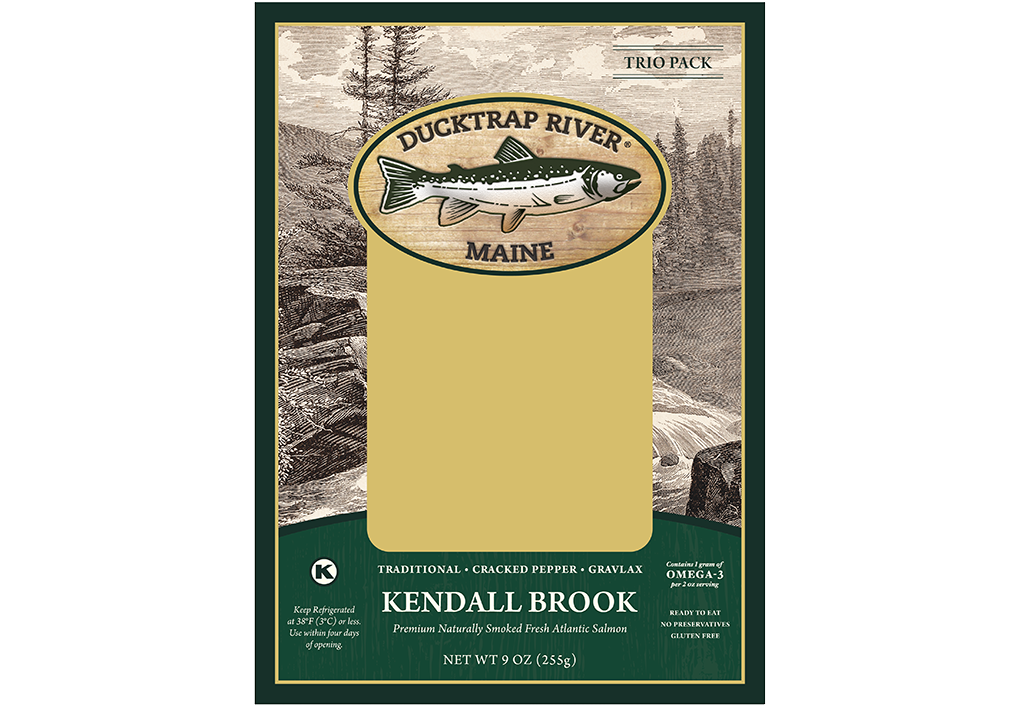 Ducktrap Kendall Brook Variety Packaging