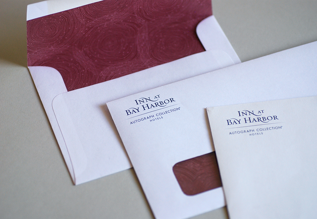 Inn at Bay Harbor Mailing Envelopes
