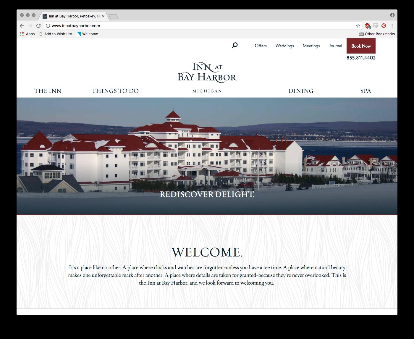 Inn at Bay Harbor Web