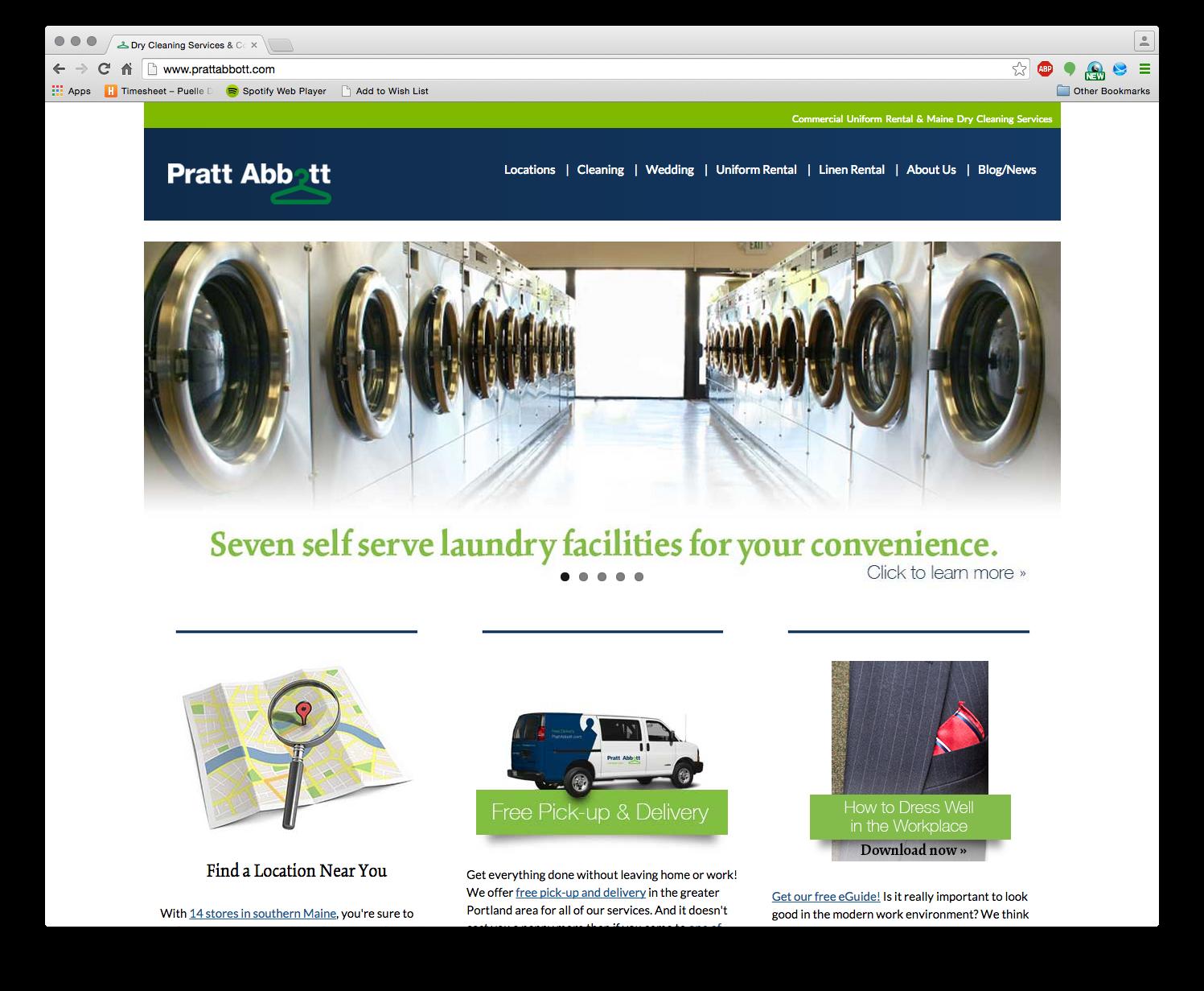 Pratt Abbott Website