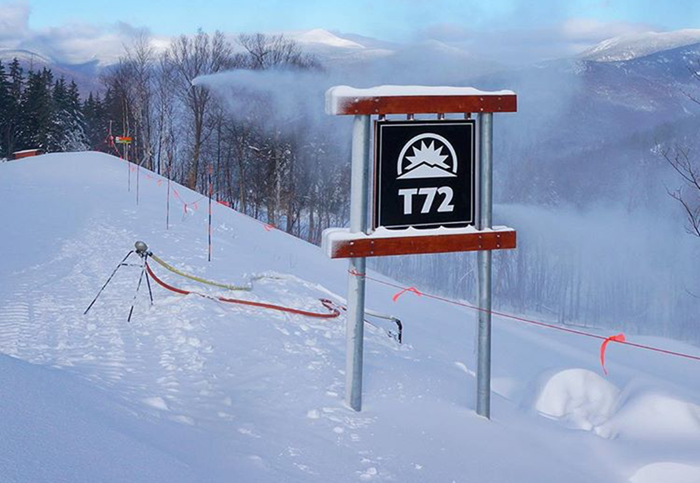Sunday River T72 Signage