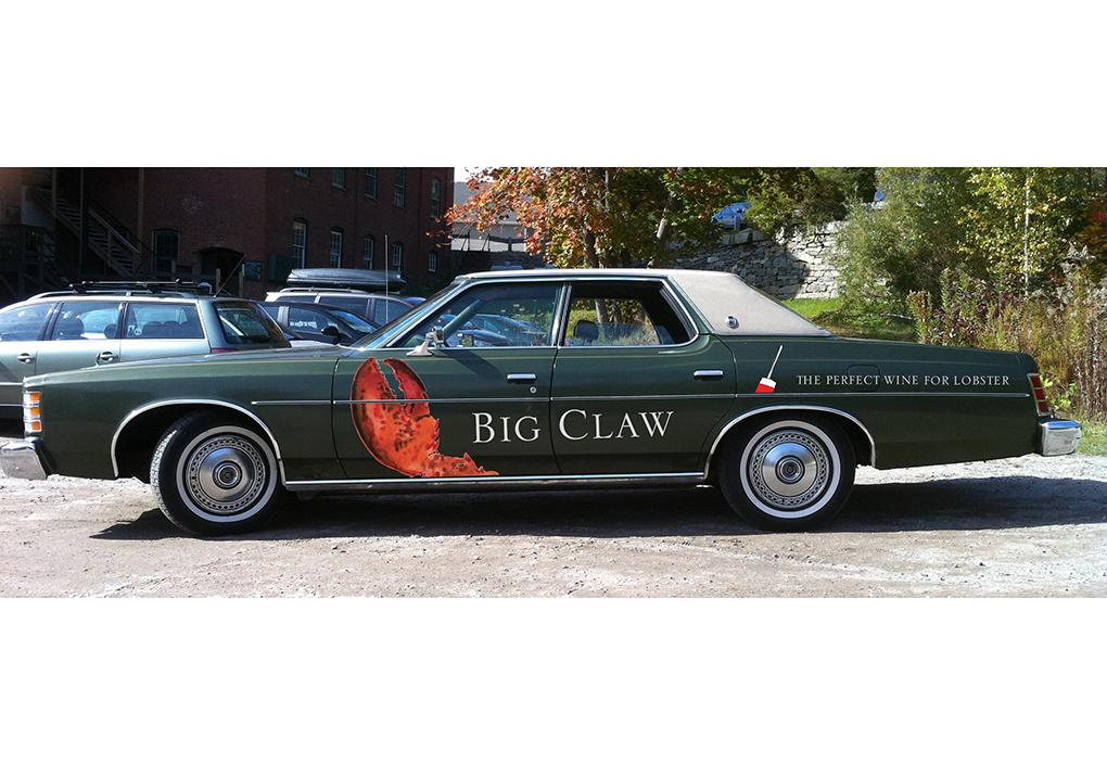 USA Wine West Car Wrap